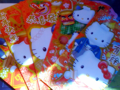 Hello Kitty Chinese New Year Red Envelopes
